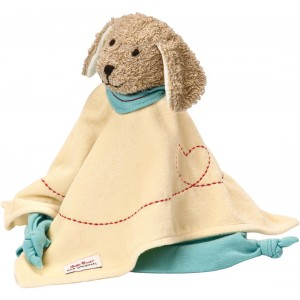 Sammy dog towel doll