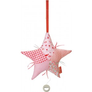 Lolla Rossa musical patchwork star