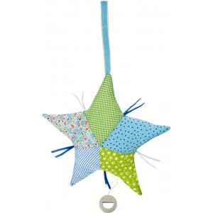 Rucola musical patchwork star