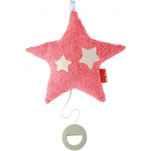 Organic hanging pink musical star