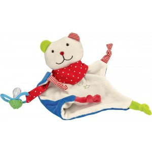 Bear pacifier towel doll