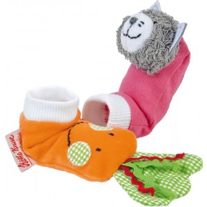 In the Garden activity socks
