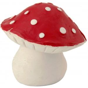 Lucky polka mushroom teether