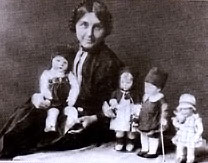 Kathe Kruse and her first dolls
