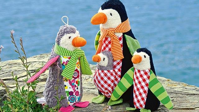 Penguins Friedjof and Nana