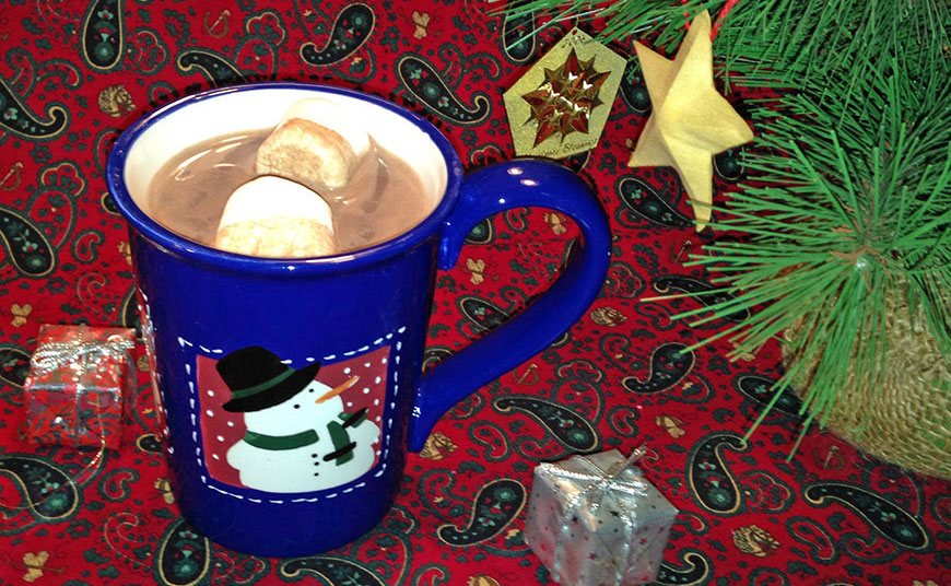 Advent activity hot chocolate