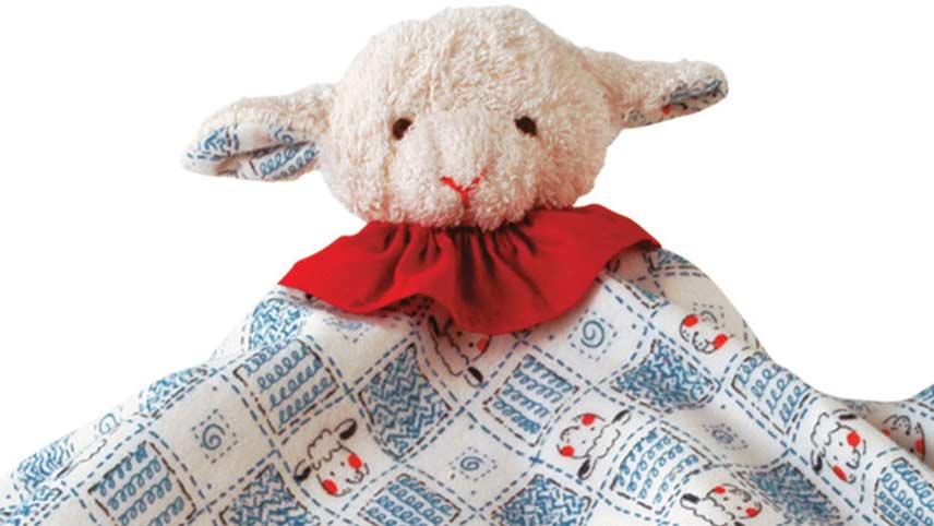 Classic Lamb Towel Doll
