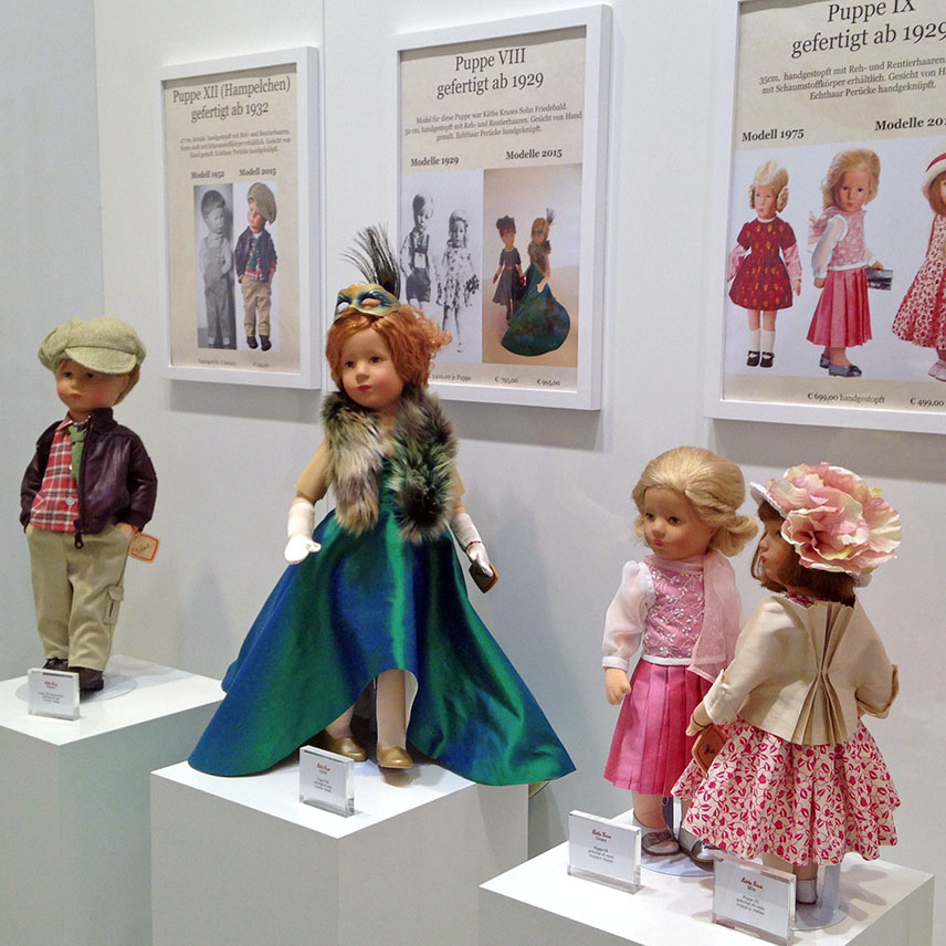 Robert, Zarah, Grace, and Mia collectible dolls