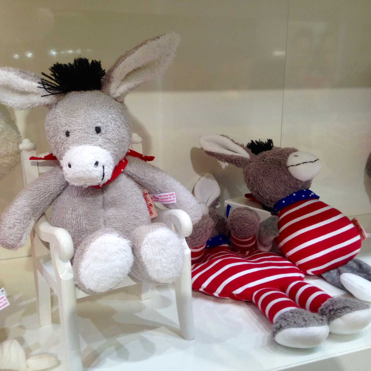 Tomato the donkey lives on with some new items