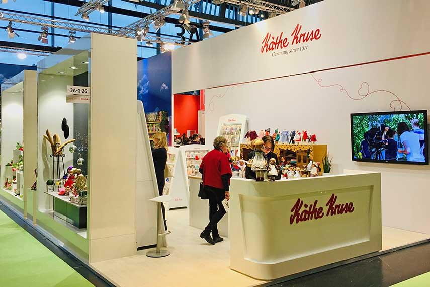 Kathe Kruse booth at Nuremberg 2019